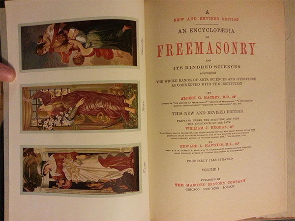 inside of the masonic encyclopedia
