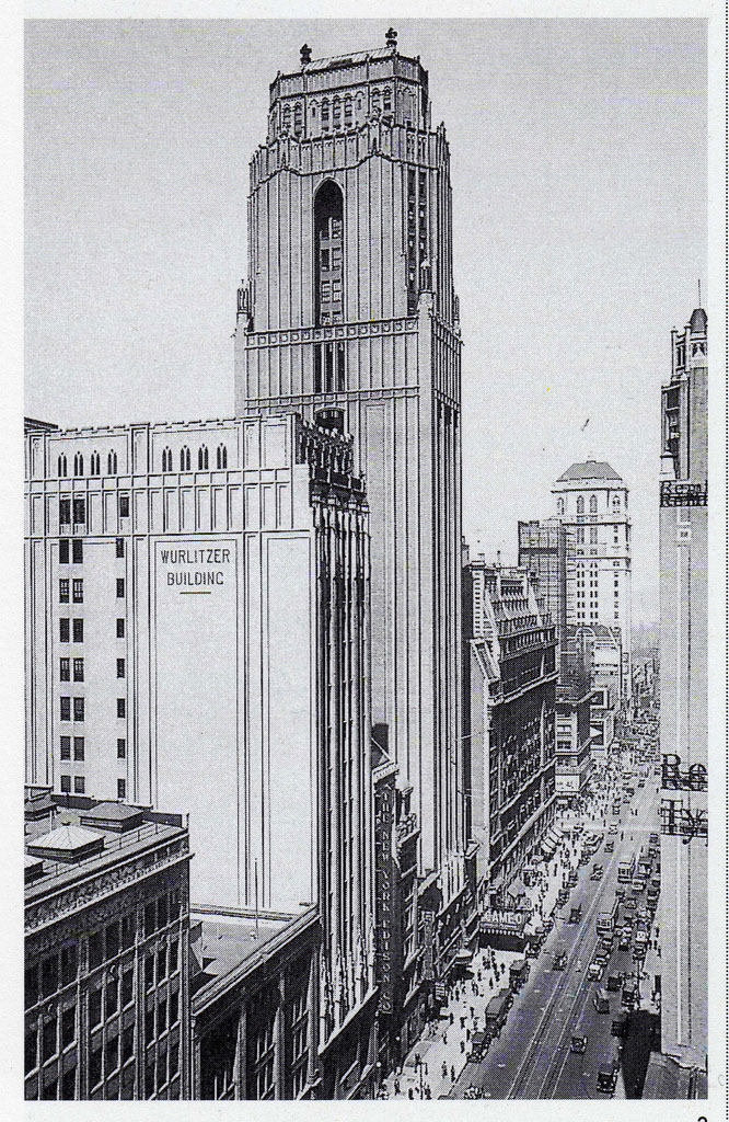 The 24-story Neogothic style Bush Tower