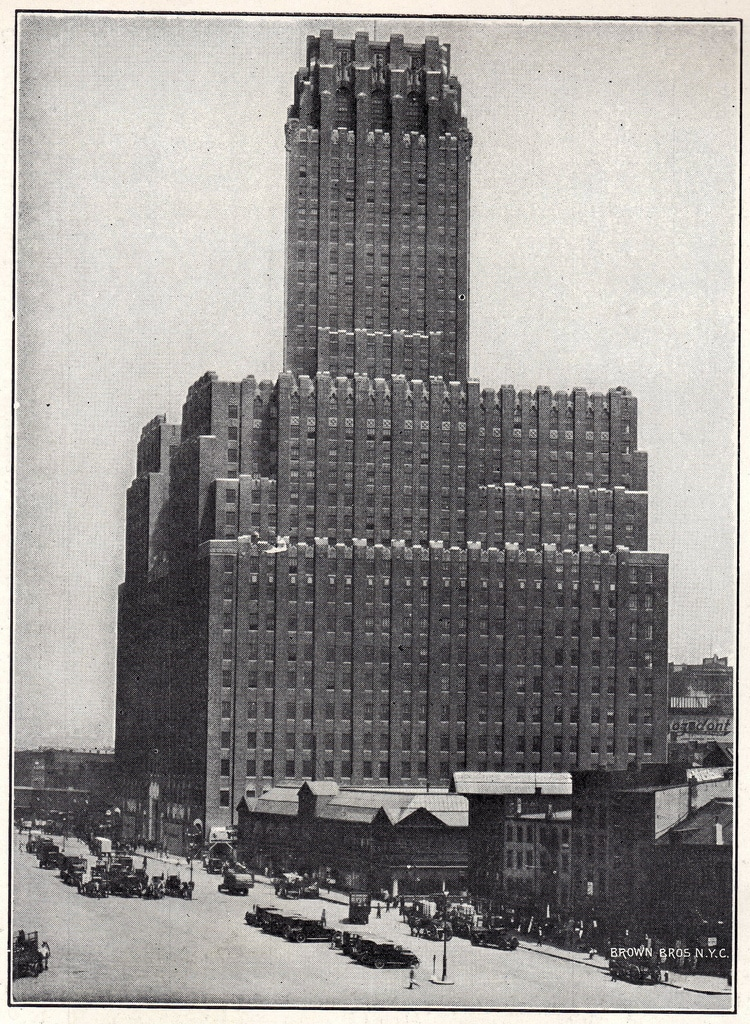 The New York telephone building
