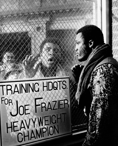 Muhammad Ali Taunts Joe Frazier Ahead Of Their First Bout The 'Fight Of The Century'