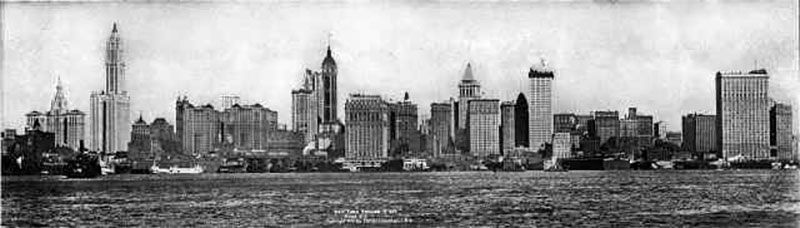 Lower Manhattan Skyline (1915)