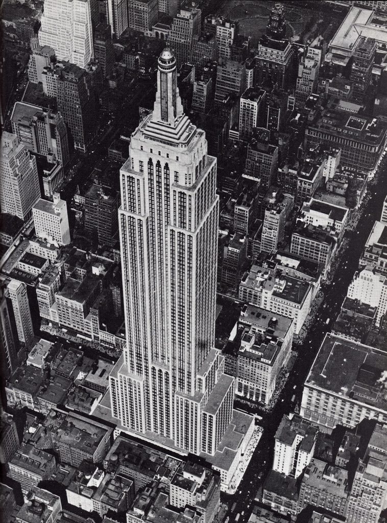 The Empire State Building was officially opened on the 1st May 1931
