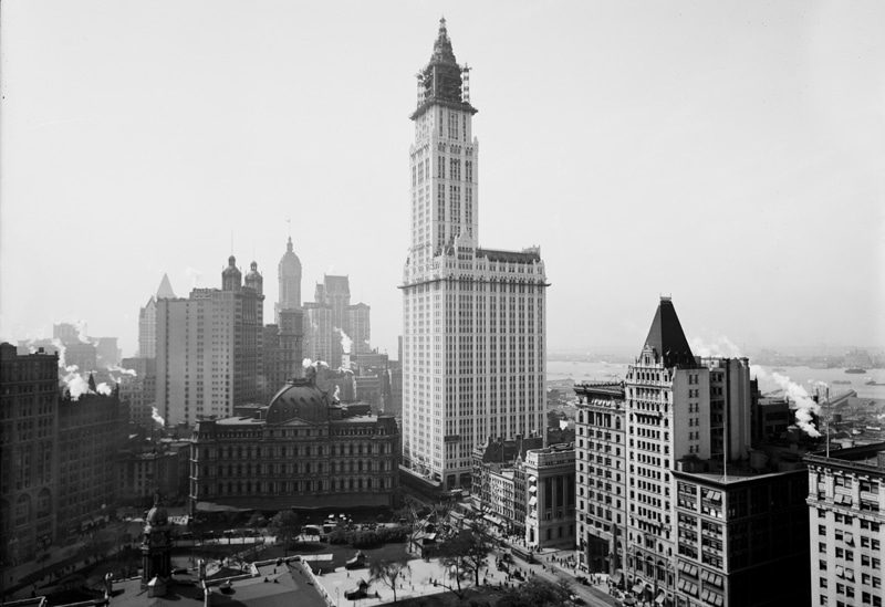 woolworth building 1910-1920