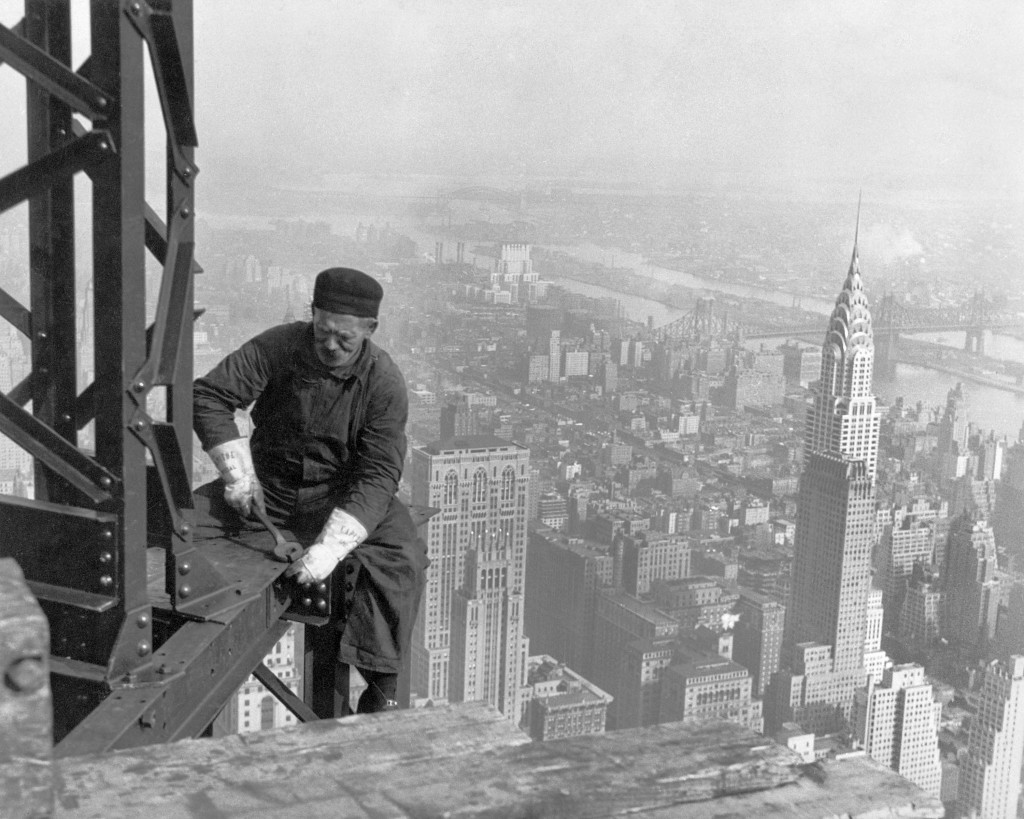 The Chrysler Building was completed in 1930 and at 1,046 feet (319 m) was both New York and the world's tallest building at the time