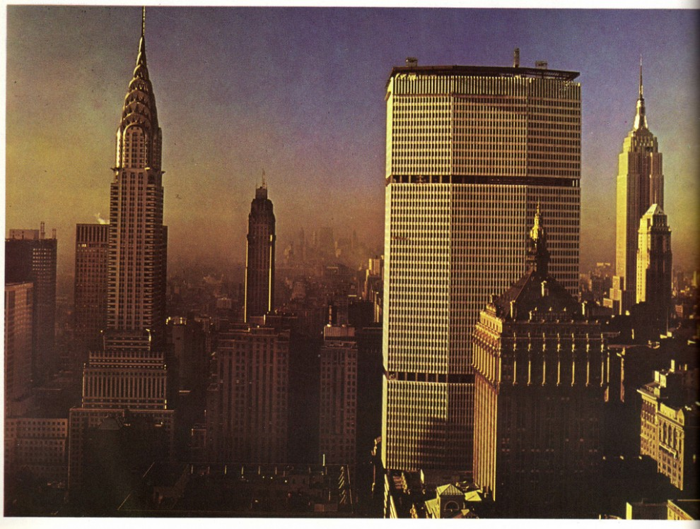 The completed Pan Am Building from Waldorf-Astoria Hotel