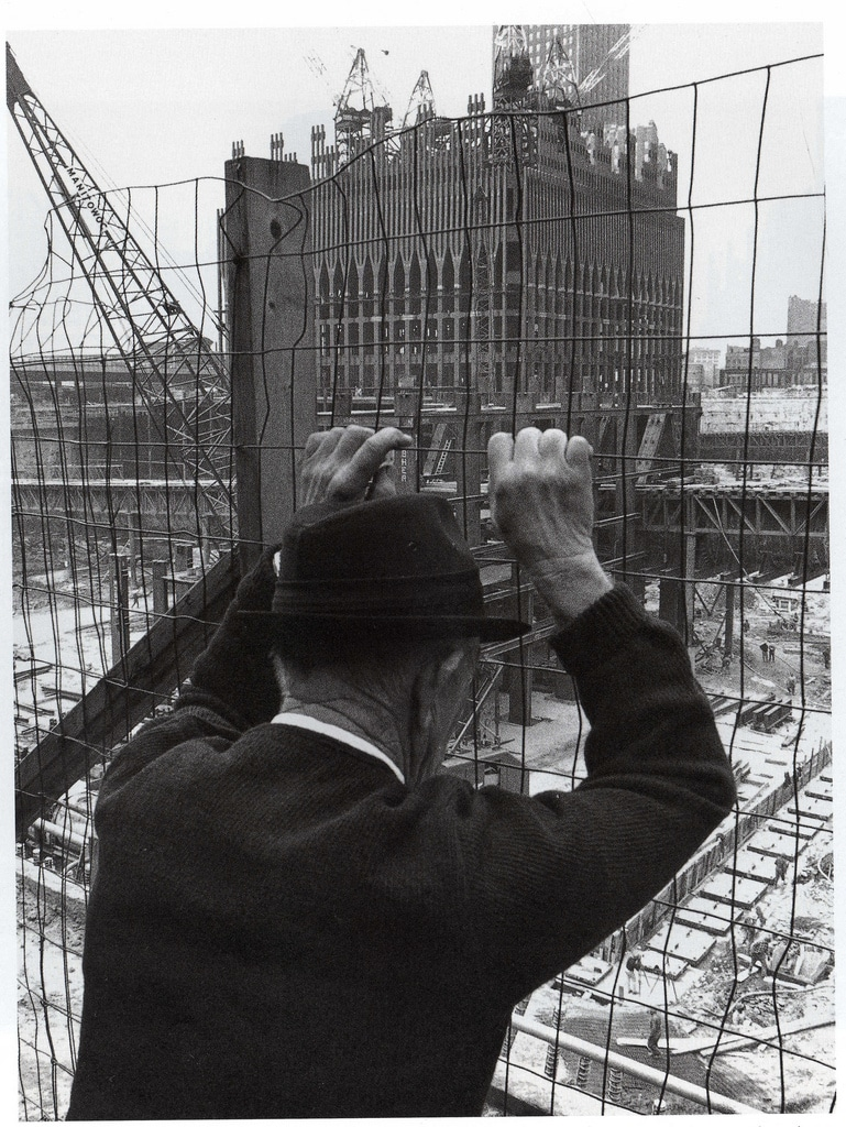 The North Tower of the World Trade under construction. May 1969.