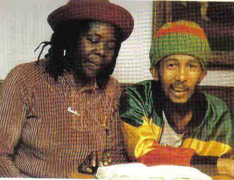 The last photo of Bob Marley