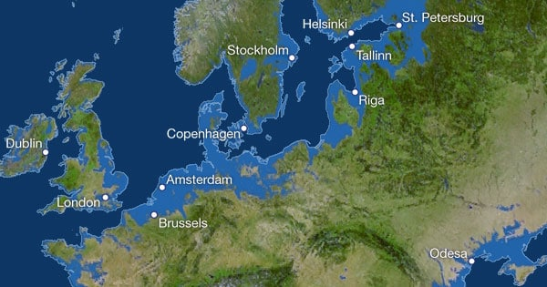 These Maps Show How The World Would Look If The Ice Melted