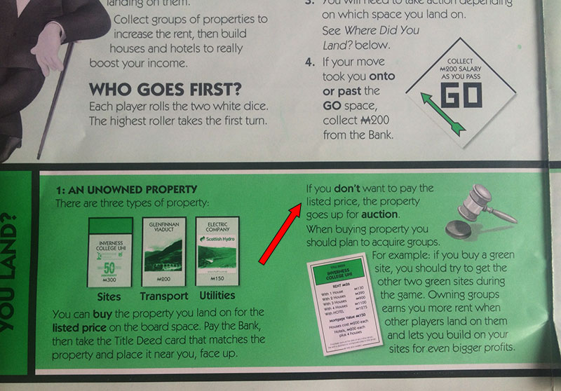 Monopoly Rules That You Didnt Know
