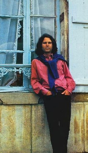 The last known photo of Jim Morrison (source)