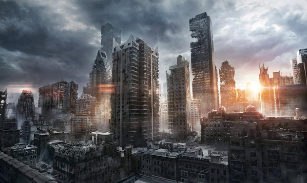 post apocalyptic New York - Jonas De Ro