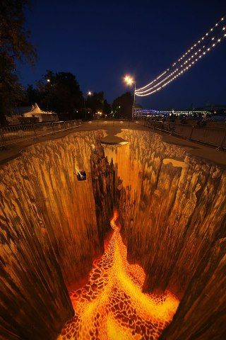 Don't step on the Lava!