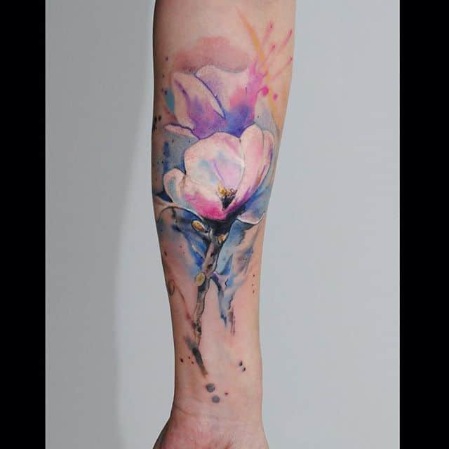 36 Beautiful Watercolor Tattoos from the World\'s Finest Tattoo Artists