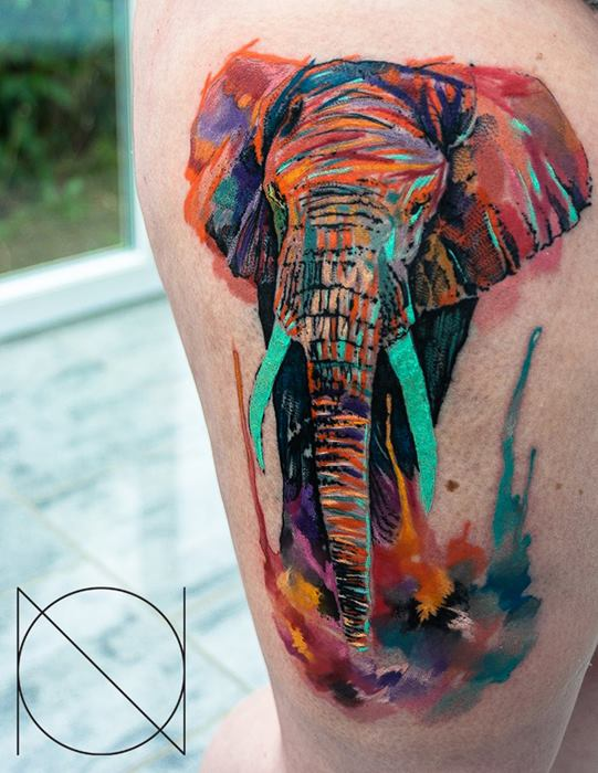 36 Beautiful Watercolor Tattoos From The World S Finest Tattoo Artists