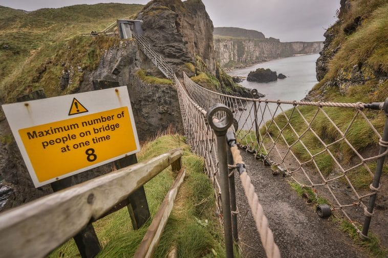 Some People Think The Scariest Part Is Coming To The: 10 Scary Bridges You'll Have To See To Believe