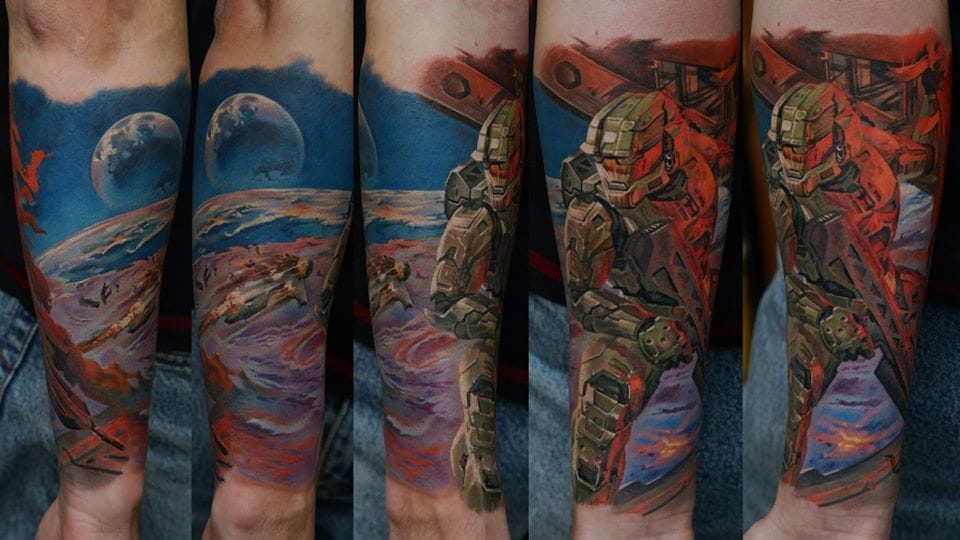 9 Amazing 3D and Realistic tattoos and the Artists Behind Them - Favrify